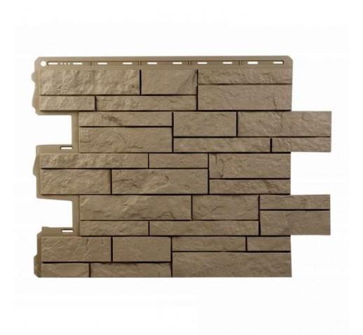 Фасадная панель Камень Шотландия Бежевый