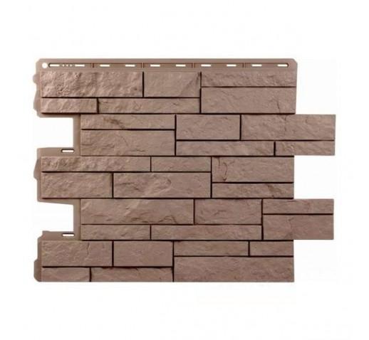 Фасадная панель Камень Шотландия Терракотовый (шт)