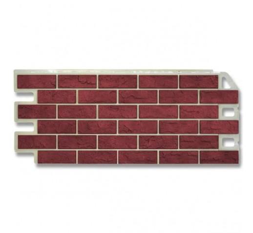 Фасадная панель Кирпич Красный (шт)