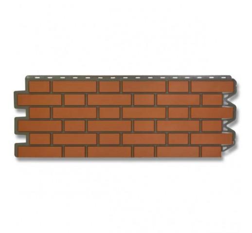 Фасадная панель Кирпич Клинкерный Красный