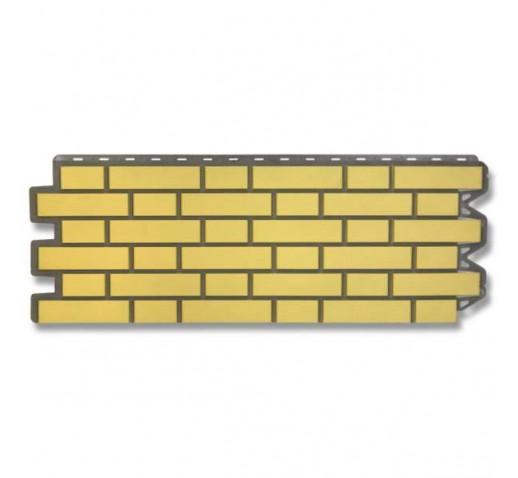 Фасадная панель Кирпич Клинкерный Желтый