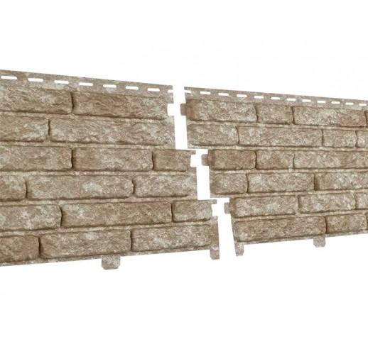 Фасадные панели Стоун-хаус Кварцит, Светло-бежевый (шт)