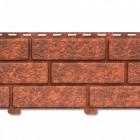 Фасадная панель с двойным замком, Кирпич Красный, 3025*230 мм