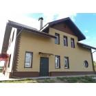Фасадная панель с двойным замком, Кирпич Песочный, 3025*230 мм