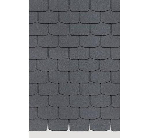 Гибкая черепица Серия STANDARD (Коллекция КРОНА) Серый (м2)