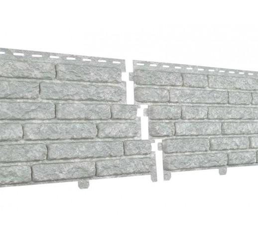 Фасадные панели Стоун-хаус Кварцит, Светло-серый (шт)