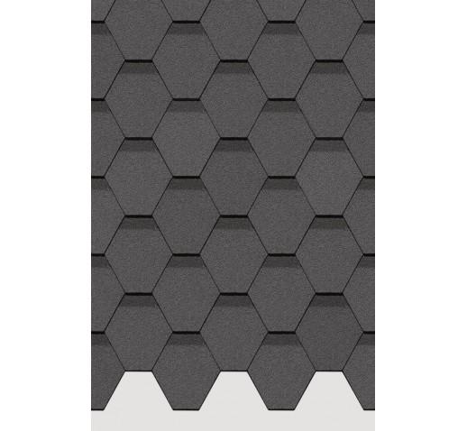 Гибкая черепица Серия STANDARD (Коллекция СОТА) Серый (м2)