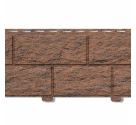 Фасадная панель с двойным замком, Камень Жженый, 3025*225 мм (шт)
