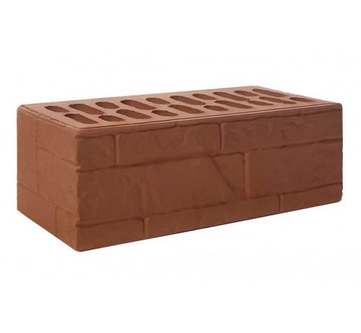 Утолщённый рифлёный «ломанный камень» «шоколад», 50х120х88, (штука)
