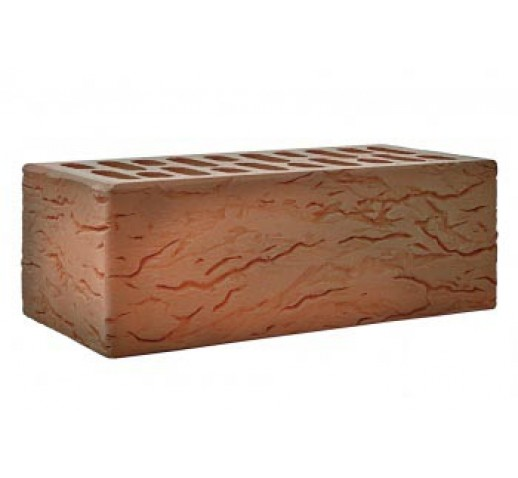 Утолщенный кирпич «Флеш классик» рифленый «Рустик»