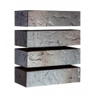 Кирпич керамический Флеш Сланец Графит (250х120х65)