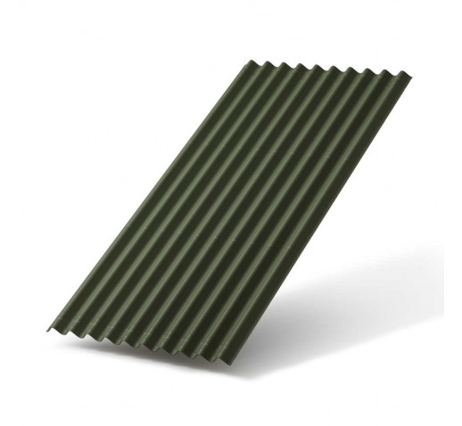 Черепица Ондулин SMART Зеленая (м2)
