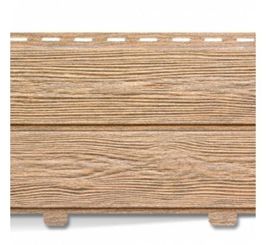 Сайдинг виниловый, Лиственница медовая ХОКЛА, 3050*230 мм (шт)