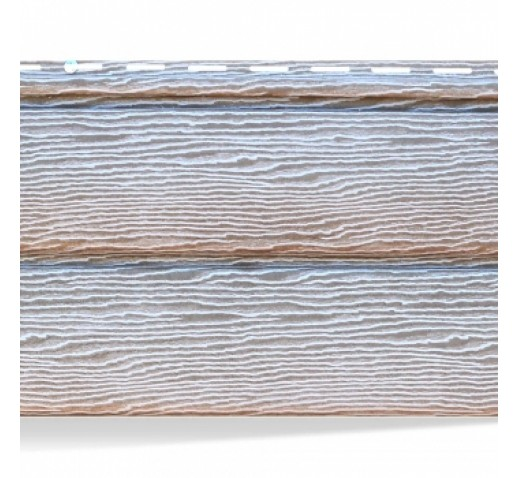 Сайдинг виниловый TimberBlock, Дуб серебристый, 3400*230 мм