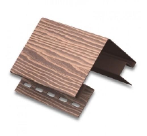 Сайдинг виниловый TimberBlock, Дуб мореный, 3400*230 мм